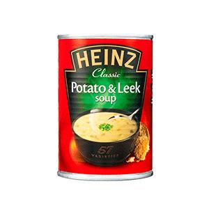 Jasa Internacional. Heinz. Sopa Patata y Puerro