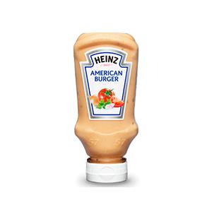 Jasa Internacional. Heinz. Salsa Burguer Americana Bocabajo