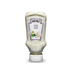 Jasa Internacional. Heinz. Salsa de Ajo Bocabajo