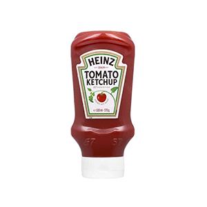 Jasa Internacional. Heinz. Ketchup Bocabajo