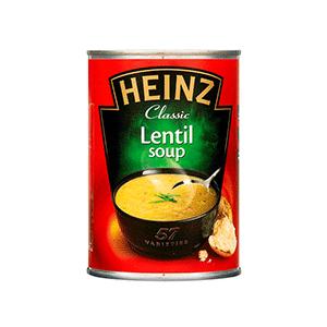 Jasa Internacional. Heinz. Sopa de Lentejas