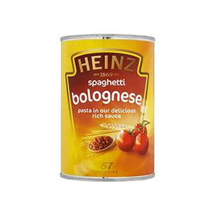 Jasa Internacional. Heinz. Espagueti Boloñesa