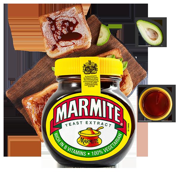 Jasa Internacional. Marmite