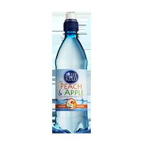 Jasa Internacional. Blue Keld. Agua sin gas/Melocotón y Manzana