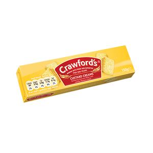 Jasa Internacional. Crawford's. Crawfords Custard Creams