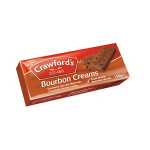 Jasa Internacional. Crawford's. Crawfords Bourbon Creams