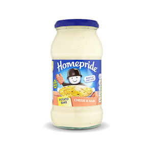Jasa Internacional. Homepride. Potato Bake Queso & Jamón