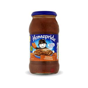 Jasa Internacional. Homepride. Salsa para cocinar Sausage Casserole