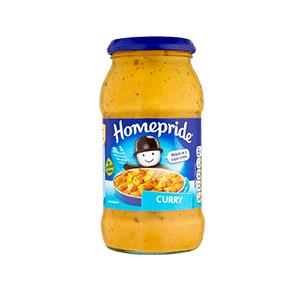 Jasa Internacional. Homepride. Salsa para cocinar Curry