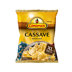 Jasa Internacional. Conimex. Crackers Cassava