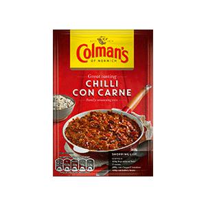 Jasa Internacional. Colman's. Chilli con Carne