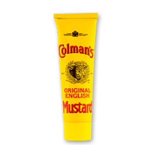 Jasa Internacional. Colman's. Mostaza Inglesa en tubo