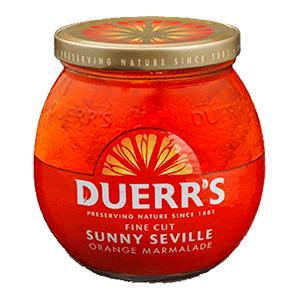 Jasa Internacional. Duerr's. Mermelada de Naranja/Fina