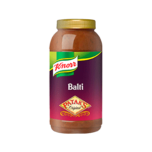 Jasa Internacional. Knorr. Patak's Salsa Balti 2.2L