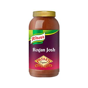 Jasa Internacional. Knorr. Patak's Salsa Rogan Josh 2.2L
