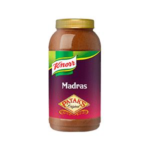 Jasa Internacional. Knorr. Patak's Salsa Madras 2.2L