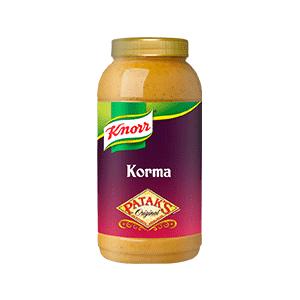 Jasa Internacional. Knorr. Patak's Salsa Korma 2.2L