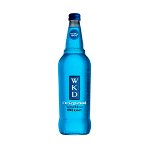 Jasa Internacional. WKD. WKD Blue botella