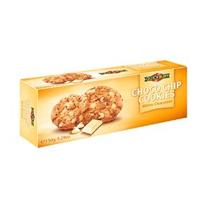 Jasa Internacional. Quickbury. Choco Chip Cookies Chocolate Blanco