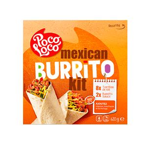 Jasa Internacional. Poco Loco. Kit Burrito Mejicano