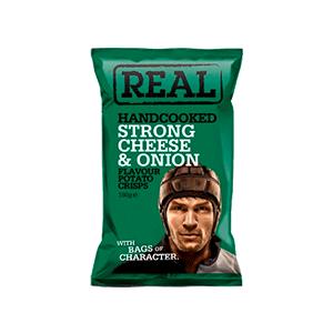 Jasa Internacional. Real. & Onion Crisps Papas Queso Fuerte Y Cebolla