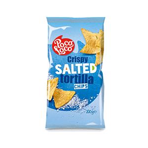 Jasa Internacional. Poco Loco. Tortilla Chips Crujientes Salados