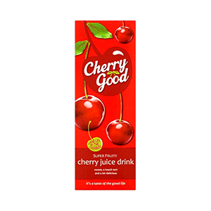 Jasa Internacional. Cherry Good. Bebida de Cerezas