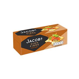 Jasa Internacional. Jacob's. High Fibre Cream Crackers