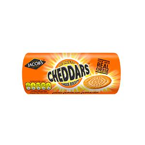 Jasa Internacional. Jacob's. Cheddars