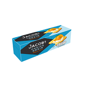 Jasa Internacional. Jacob's. Choice Grain Crackers