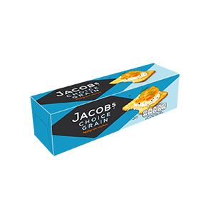 Jasa Internacional. Jacob's. Choice Grain Crackers