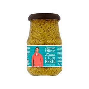 Jasa Internacional. Jamie Oliver. Pesto Hierbas Italianas