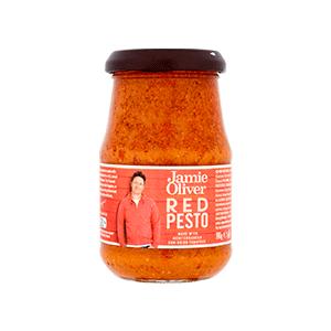 Jasa Internacional. Jamie Oliver. Pesto Rojo