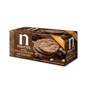 Jasa Internacional. Nairn's. Galletas de Avena - Chocolate Chip