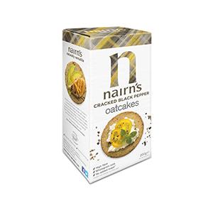 Jasa Internacional. Nairn's. Crackers con Pimienta Negra