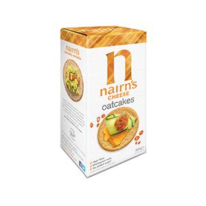 Jasa Internacional. Nairn's. Cheese Oatcakes